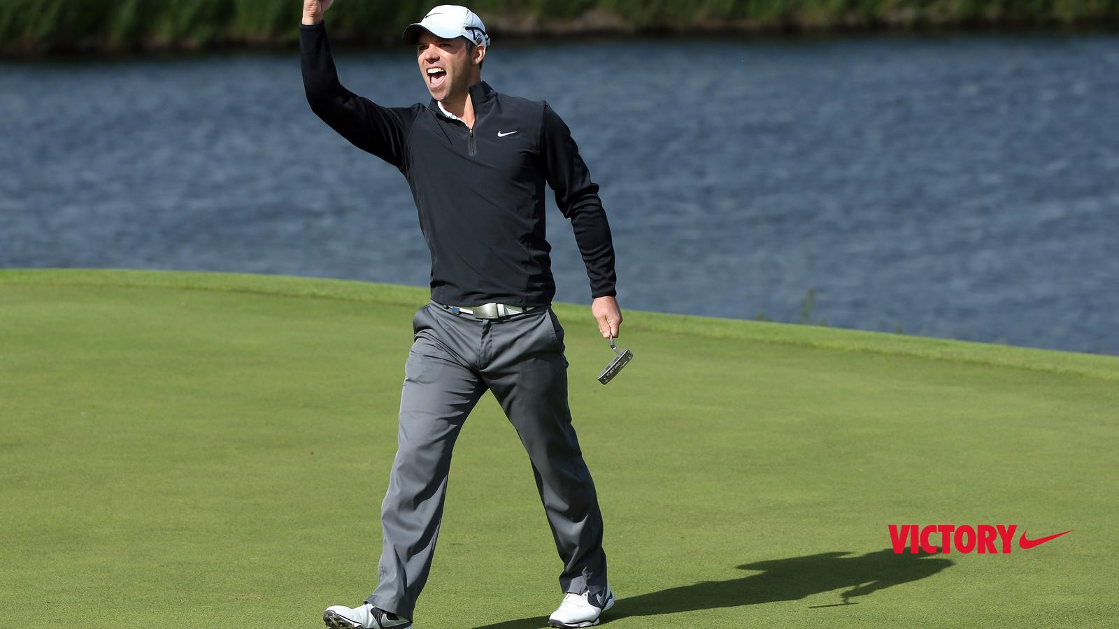 """755f8094c An """"Incredibly Sweet"""" Victory for Nike Athlete Paul Casey - Nike News"""