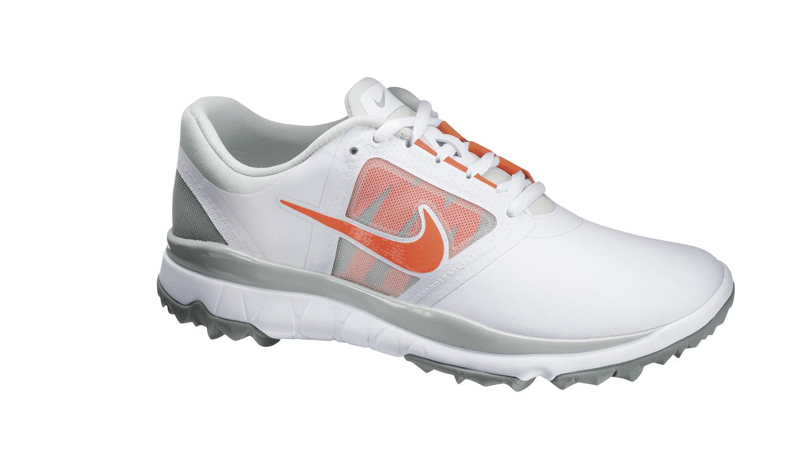 promo code 74741 e8218 Nike FI Impact Womens White Turf Orange