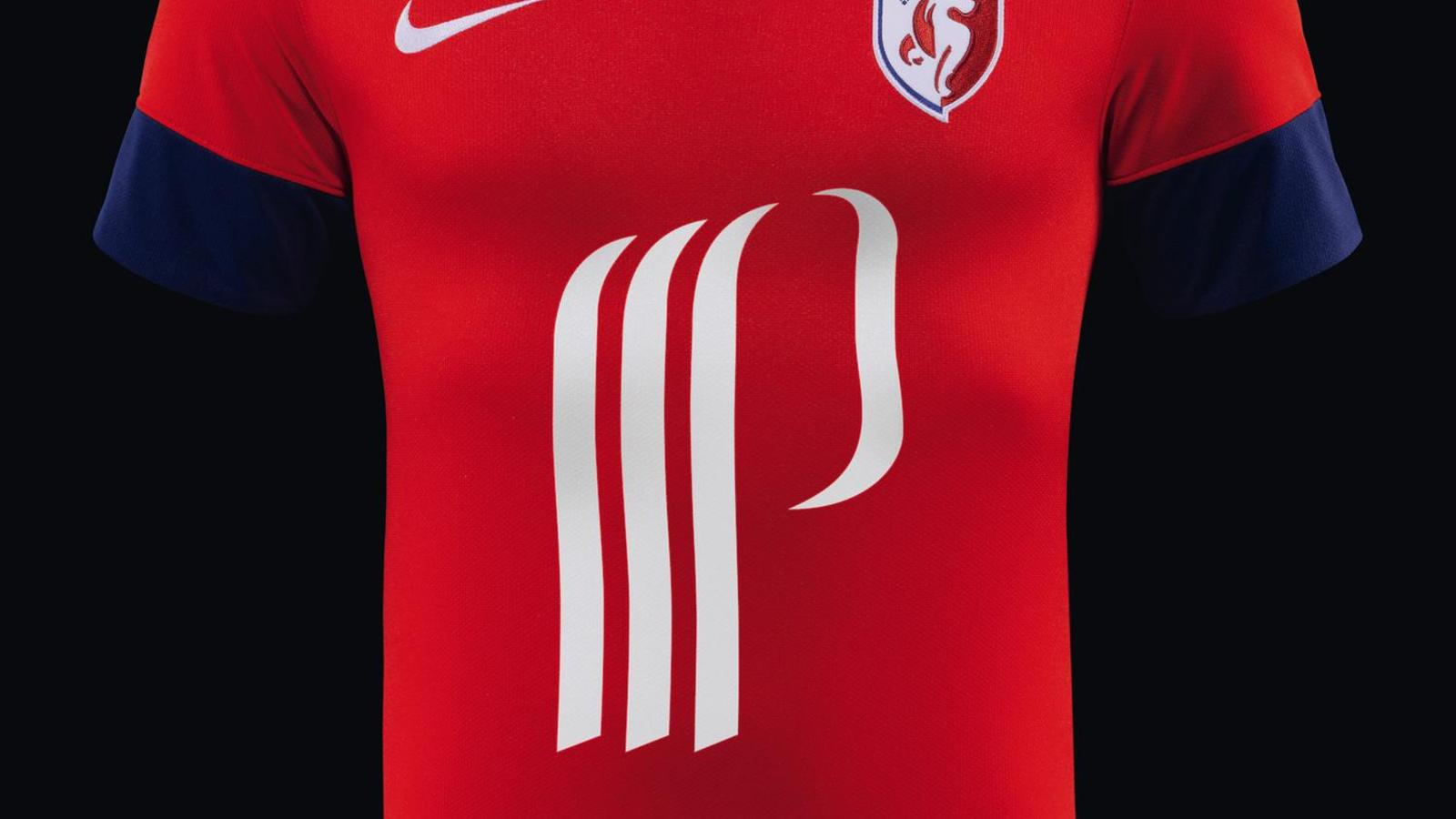 Losc Lille And Nike Unveil Home Away And Third Kits For 2013 14 Season Nike News