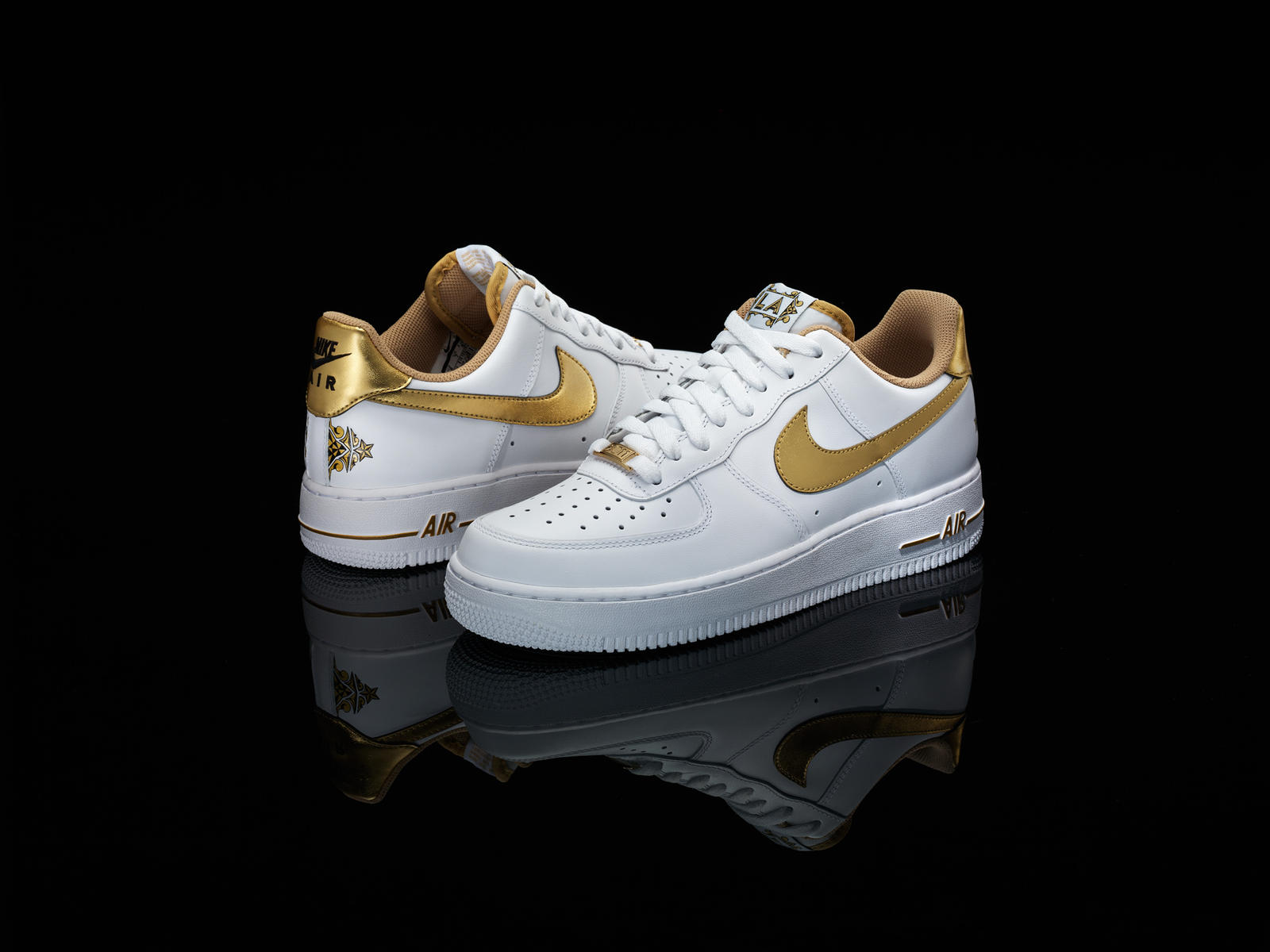 This is an image of Modest Drawing Of Air Force 1s Shoes