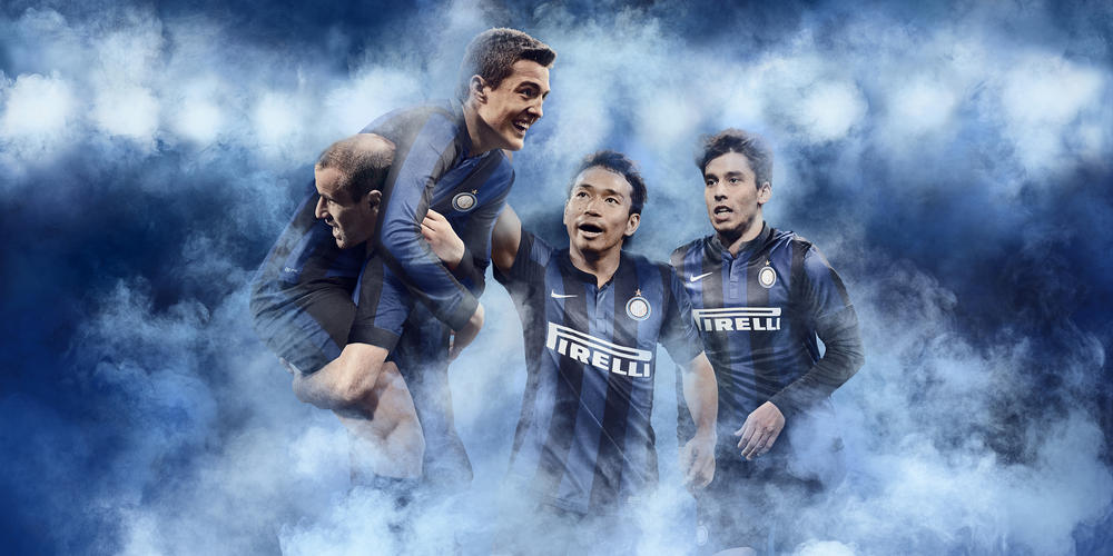 F.C. Internazionale and Nike Unveil New Kits for  2013-14 Season