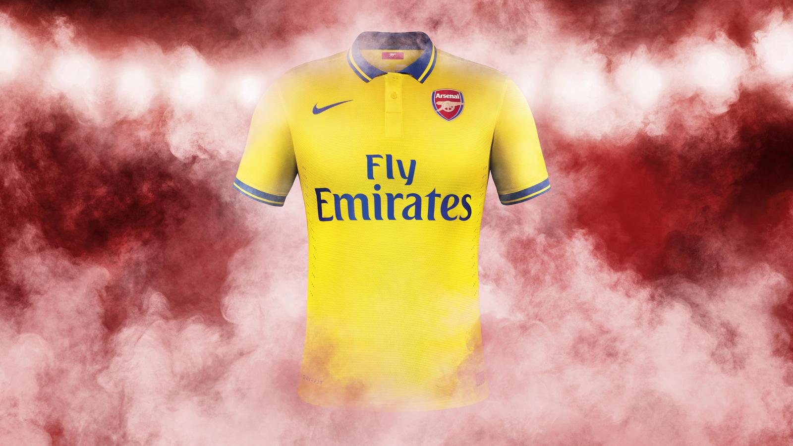 Arsenal Away Shirt 2013-14