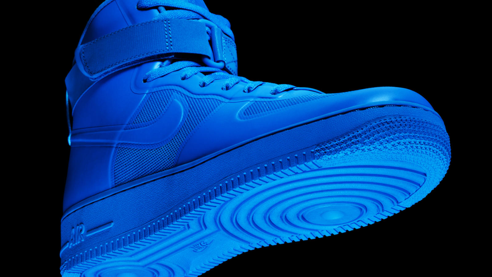 Air Force 1 High Hyperfuse Blue Glow