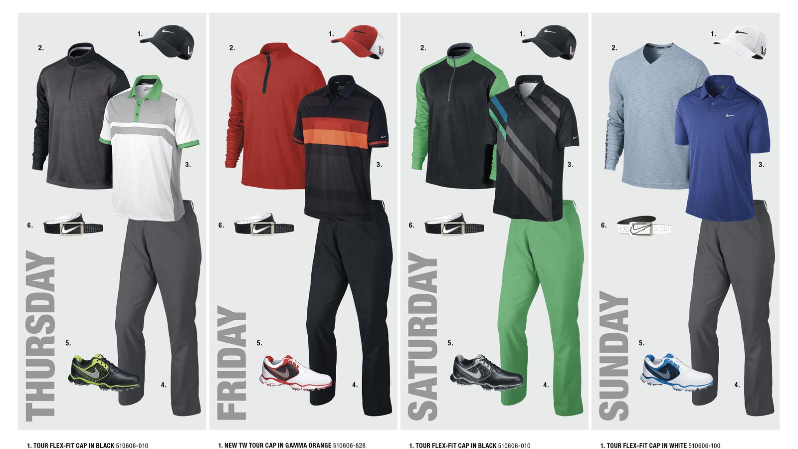 Rory McIlroy's Open Championship Looks