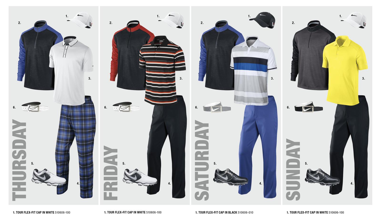 Francesco Molinari's Open Championship Looks
