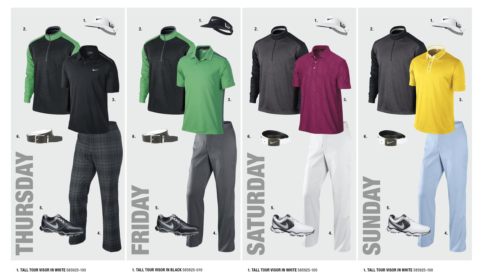 Carl Pettersson's Open Championship Looks