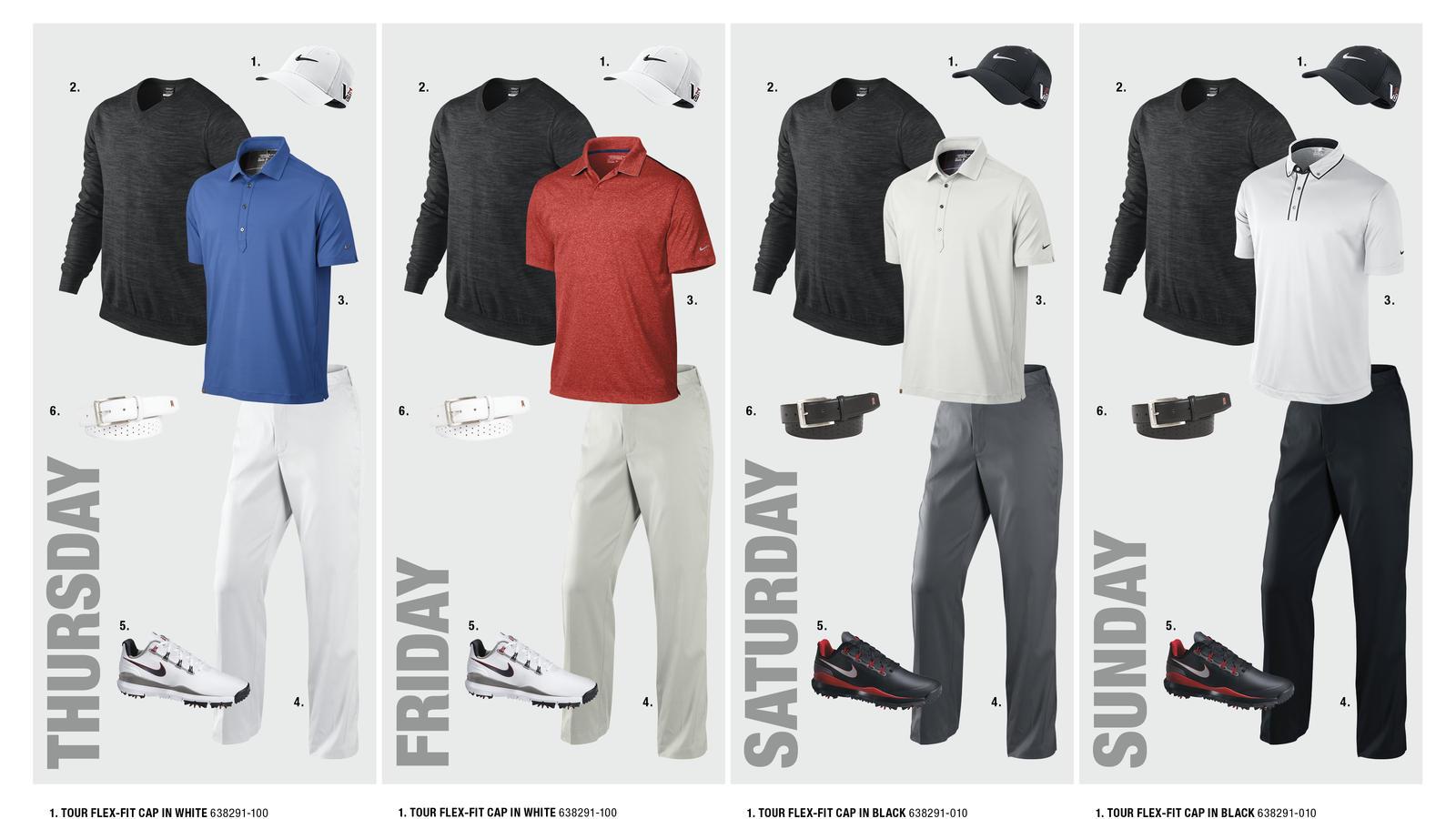 Scott Brown's Open Championship Looks
