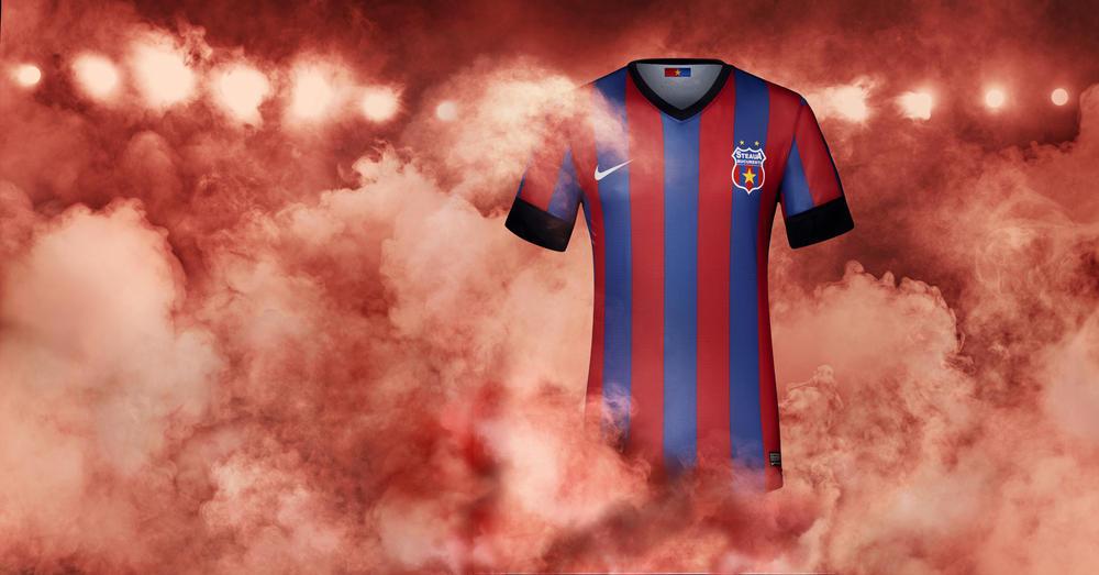 Nike Unveils Steaua Bucharest Home Kit Ahead of Romanian Supercup Final