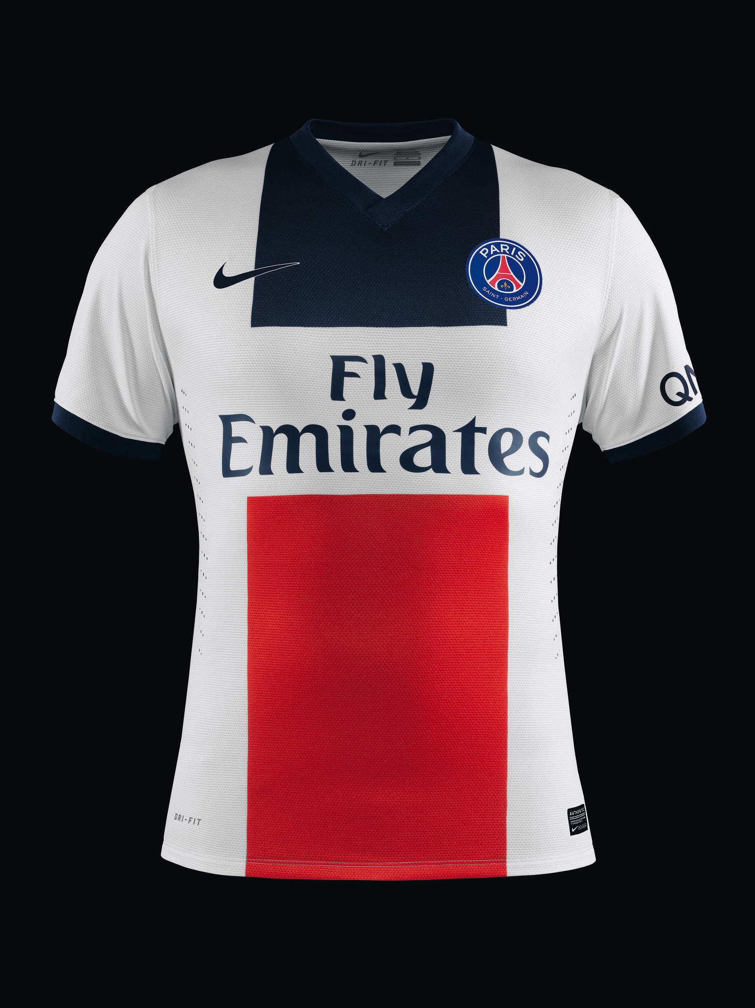Nike unveils new paris saint germain away kit for 2013 14 for Maillot exterieur psg
