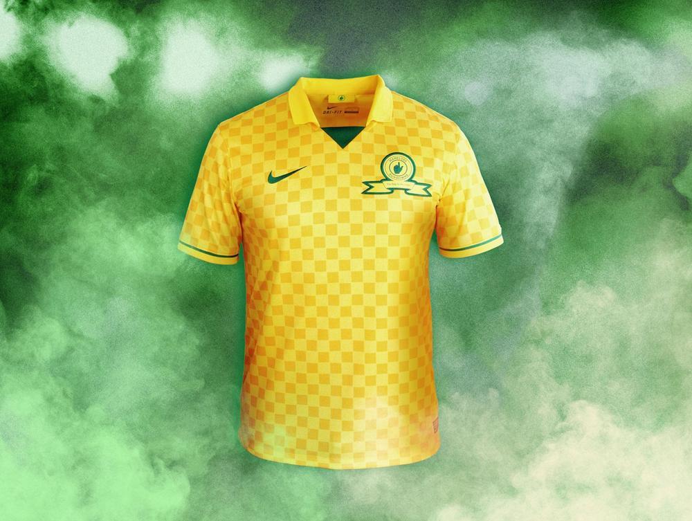 Mamelodi Sundowns and Nike Introduce Kit for 2013-14 Season
