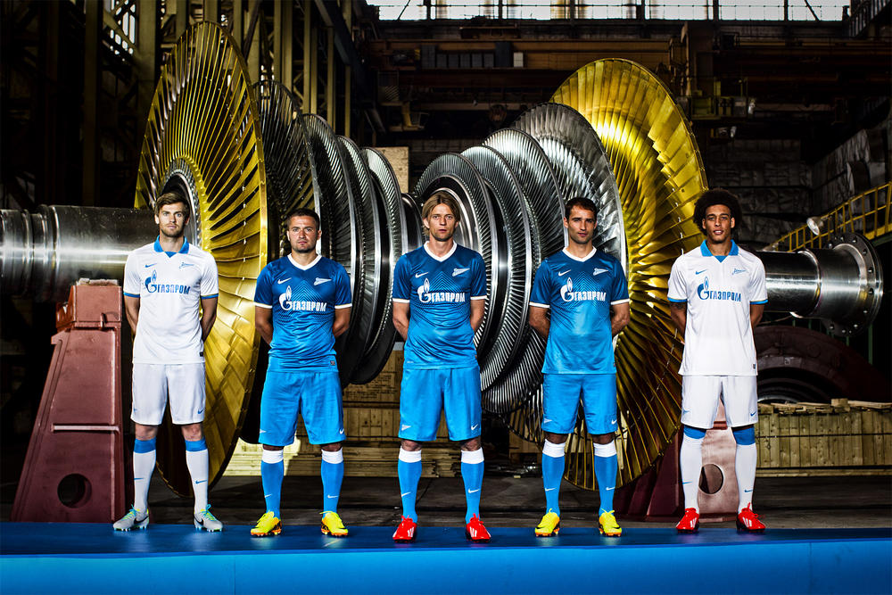 Zenit and Nike Introduce New Club Crest on Updated Home and Away Kits