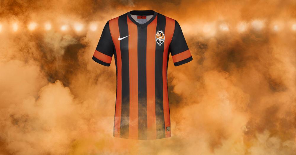 Nike and Ukranian Champions Shakhtar Donetsk Unveil Home Kit