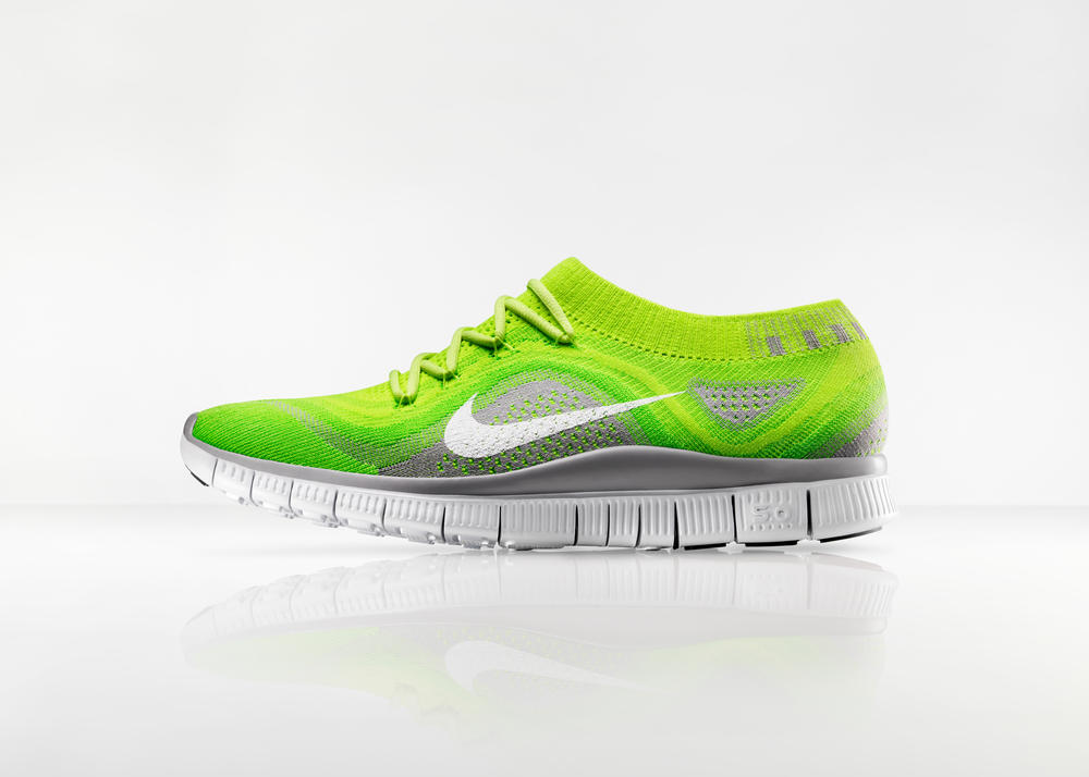 Nike Free Flyknit Provides Compression Fit with Free Flexibility