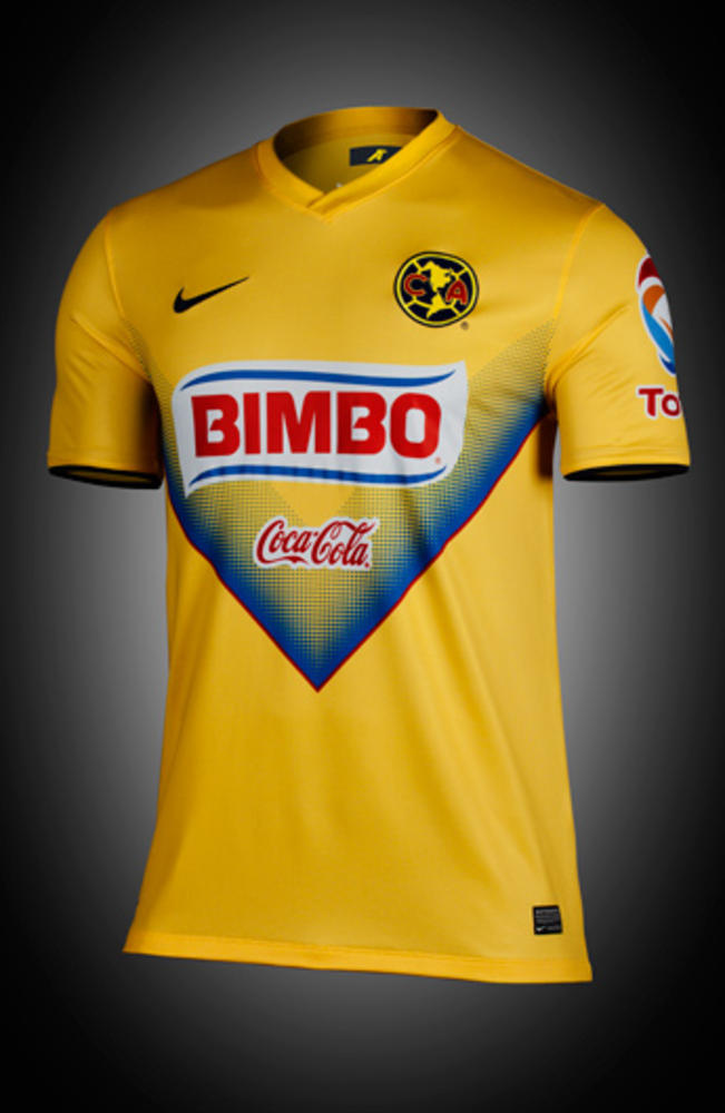 Nike Delivers New Home Kits for Club America