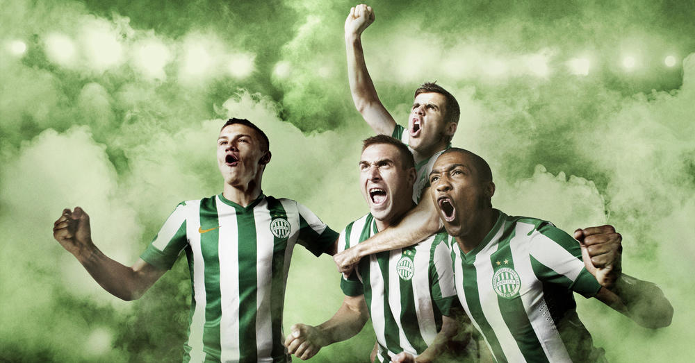 Ferencvaros and Nike introduce new home club kit for 2013-14 season
