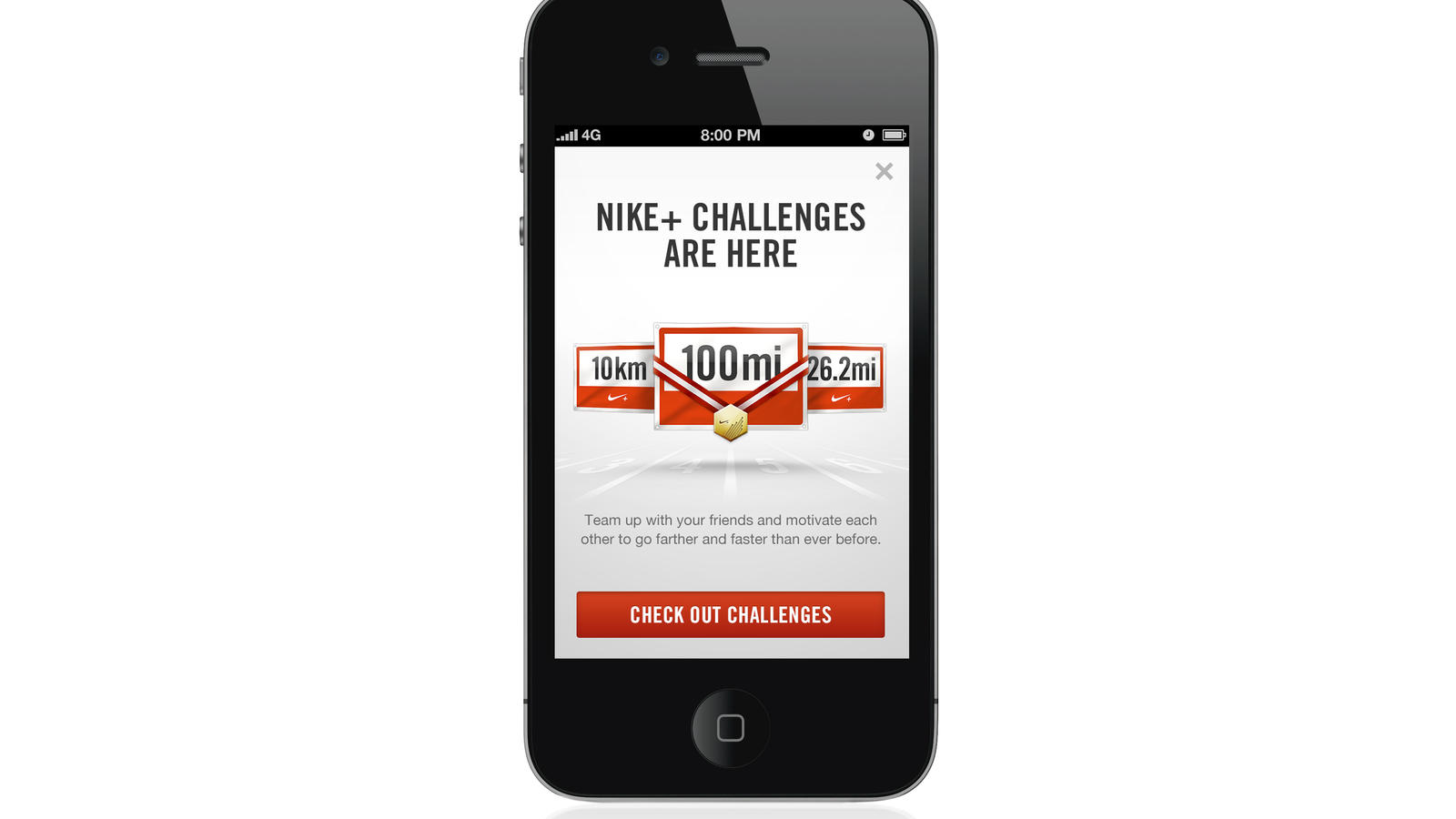 Nike+ Challenges