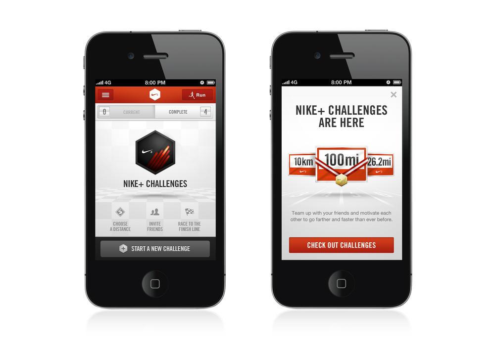 Atualização do app Nike+  Incentiva Desafios Entre Corredores