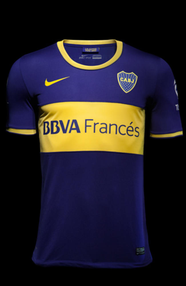 Boca Juniors and Nike Reveal Home and Away Jerseys for 2013-14 Season