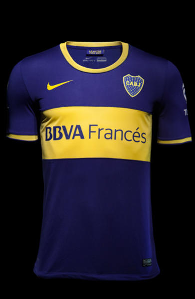 outlet store c9072 7f68b Boca Juniors and Nike Reveal Home and Away Jerseys for 2013 ...