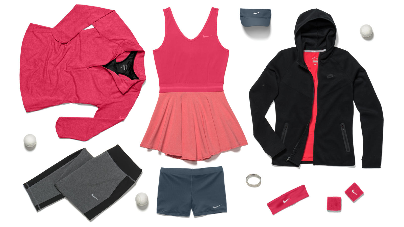 Nike Tennis Reveals Athlete Looks for New York Nike News