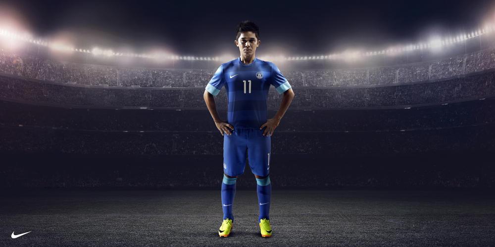 Nike Unveils India National Football Team Kit