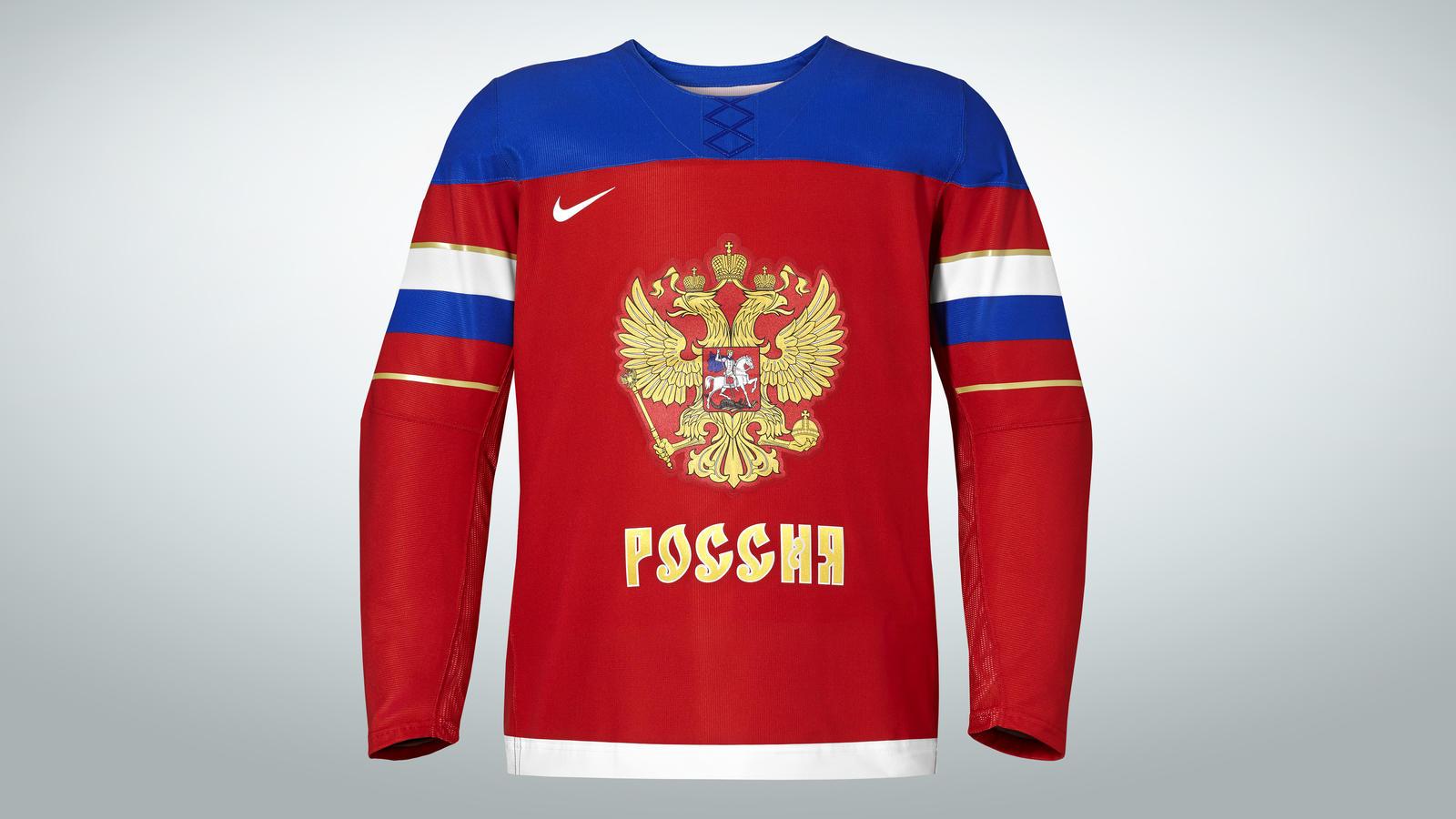 Russia Nt Hockey Jersey 02