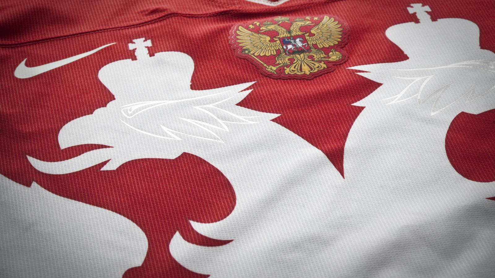 Russia Nt Hockey Jersey 15