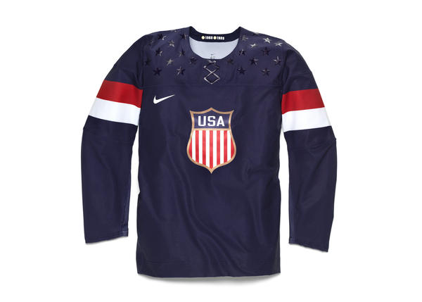 Nike Unveils 2014 USA Olympic Hockey Jersey