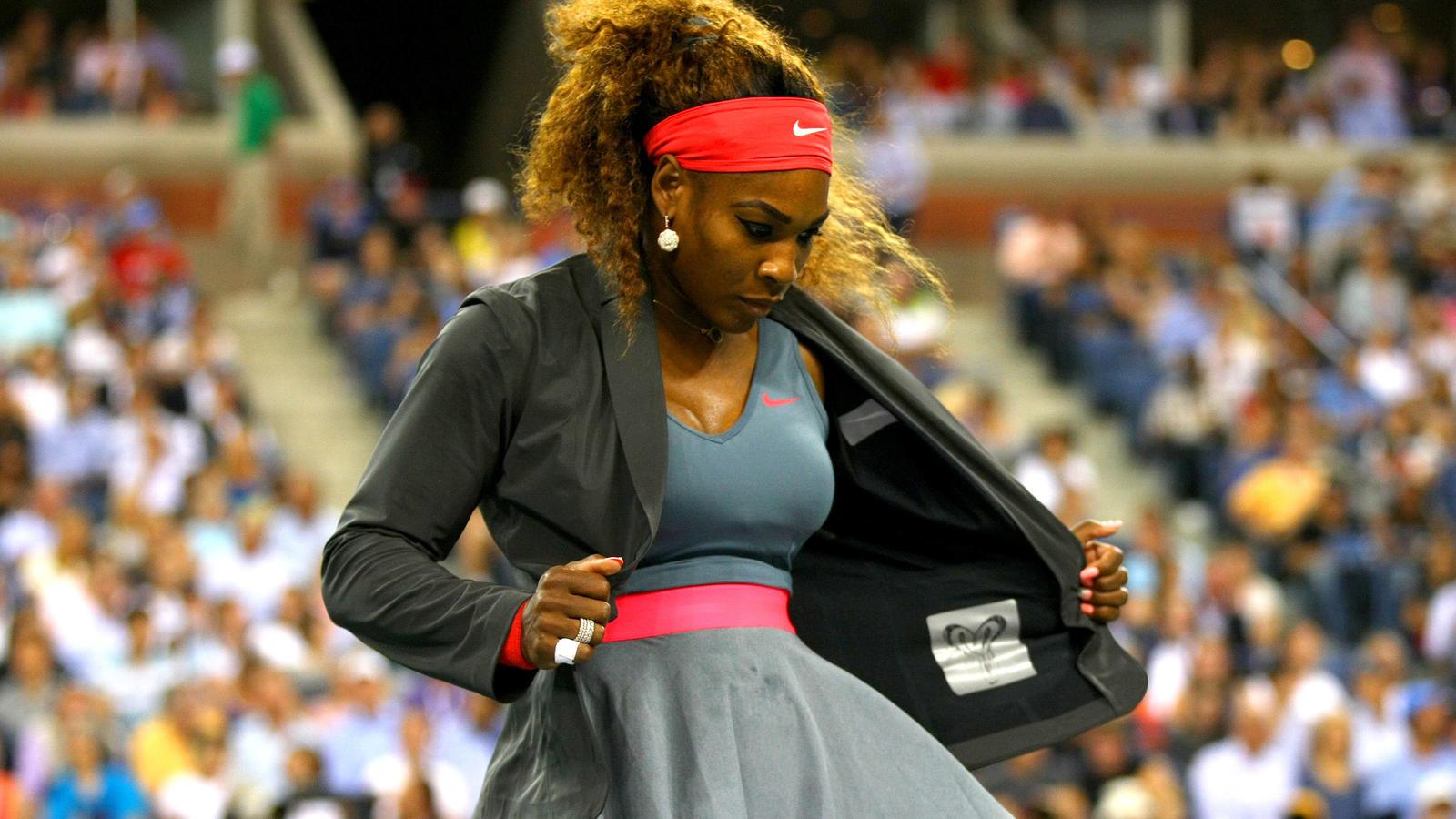 Nike Tennis Vapor Flash Womens Jacket - Serena