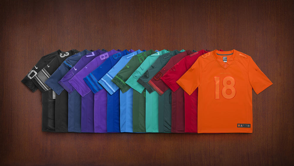 """Nike Football Celebrates NFL Fans with 32 Special-Edition """"Get Drenched"""" Team Jerseys"""