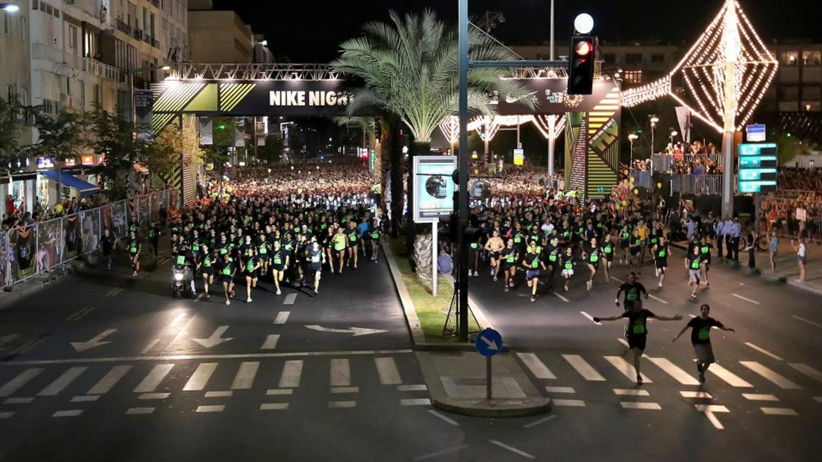 Night Run Tel Aviv