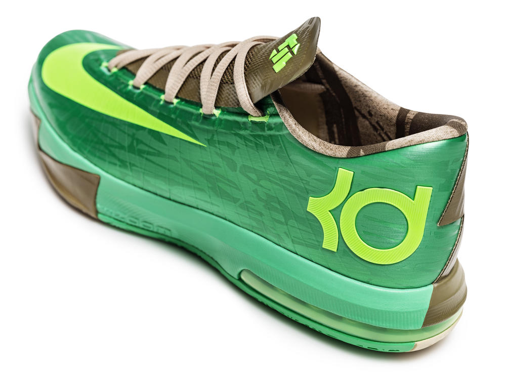 KD VI Bamboo Parallels the Growth of Durant's Game