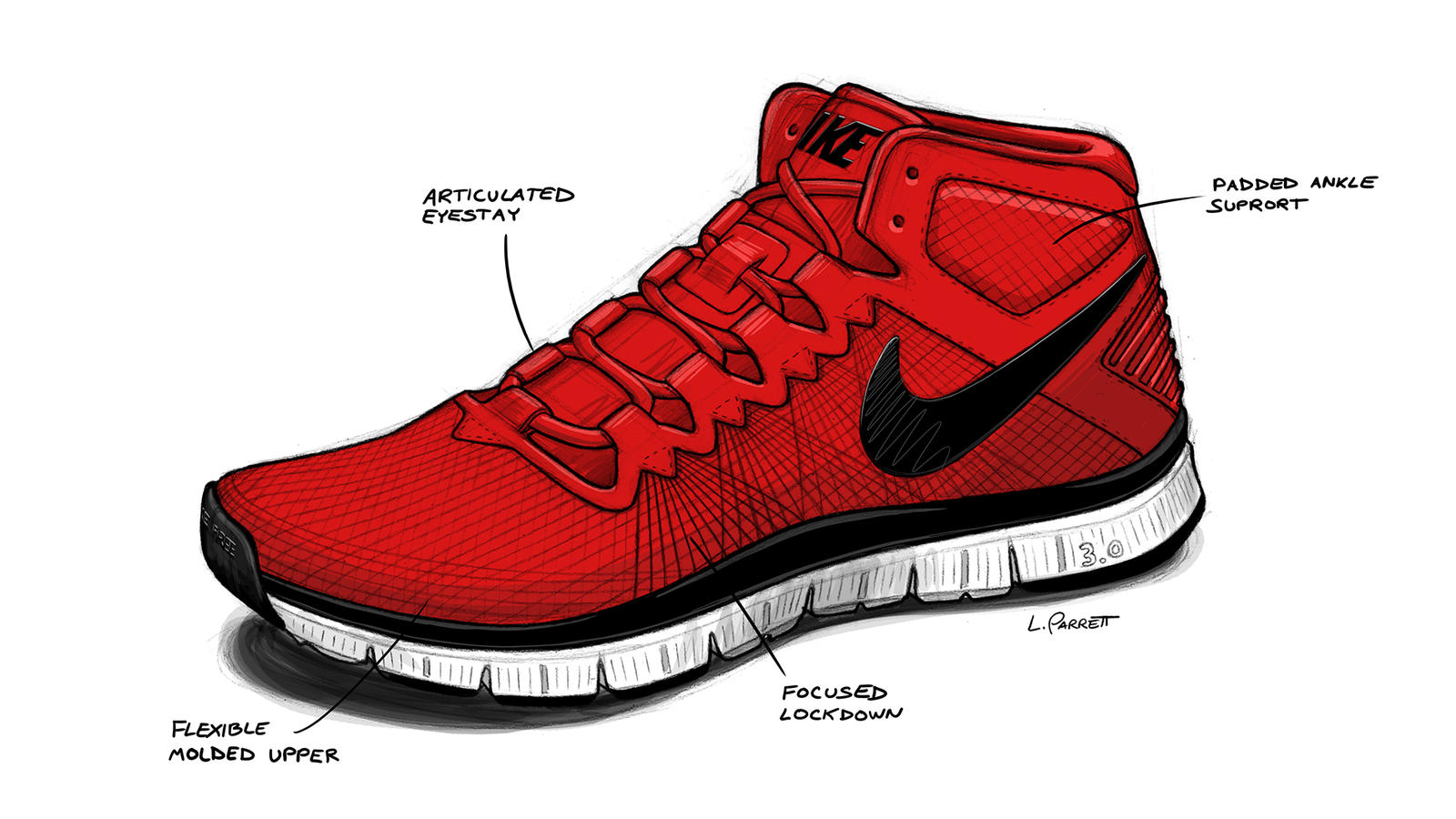 Share Image. Designed for the fall and winter training seasons, the Nike  Free Trainer 3.0 ...
