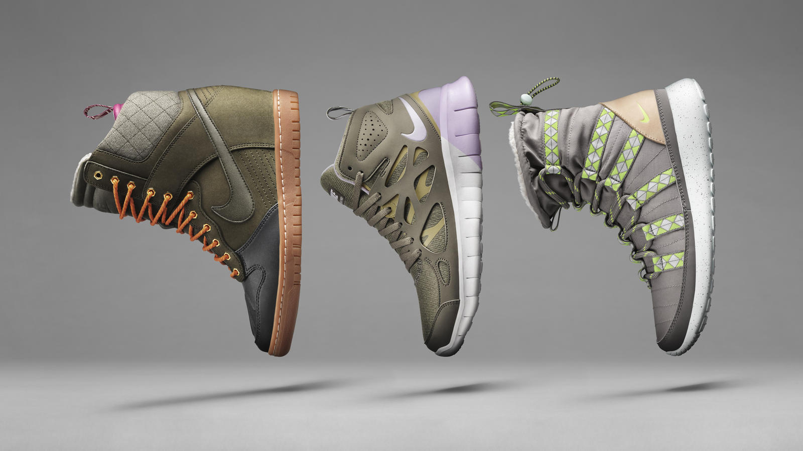 True Icons, Bigger and Better: Nike SneakerBoots Nike News