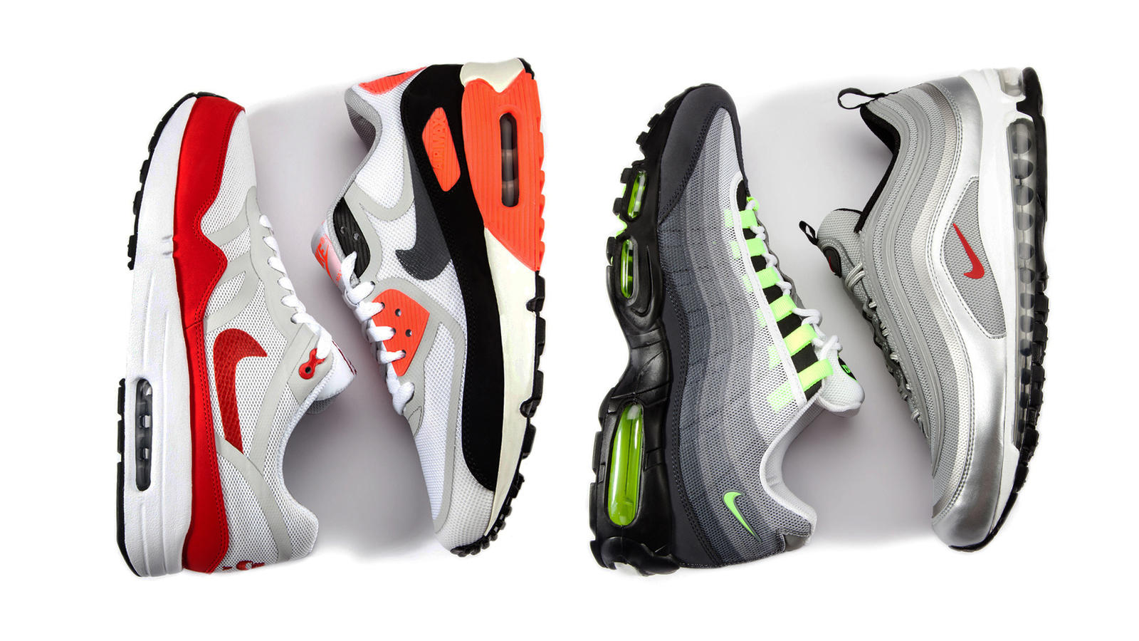 Nike Shoes | Air Max 95 Premium Tape Reflective Zebra