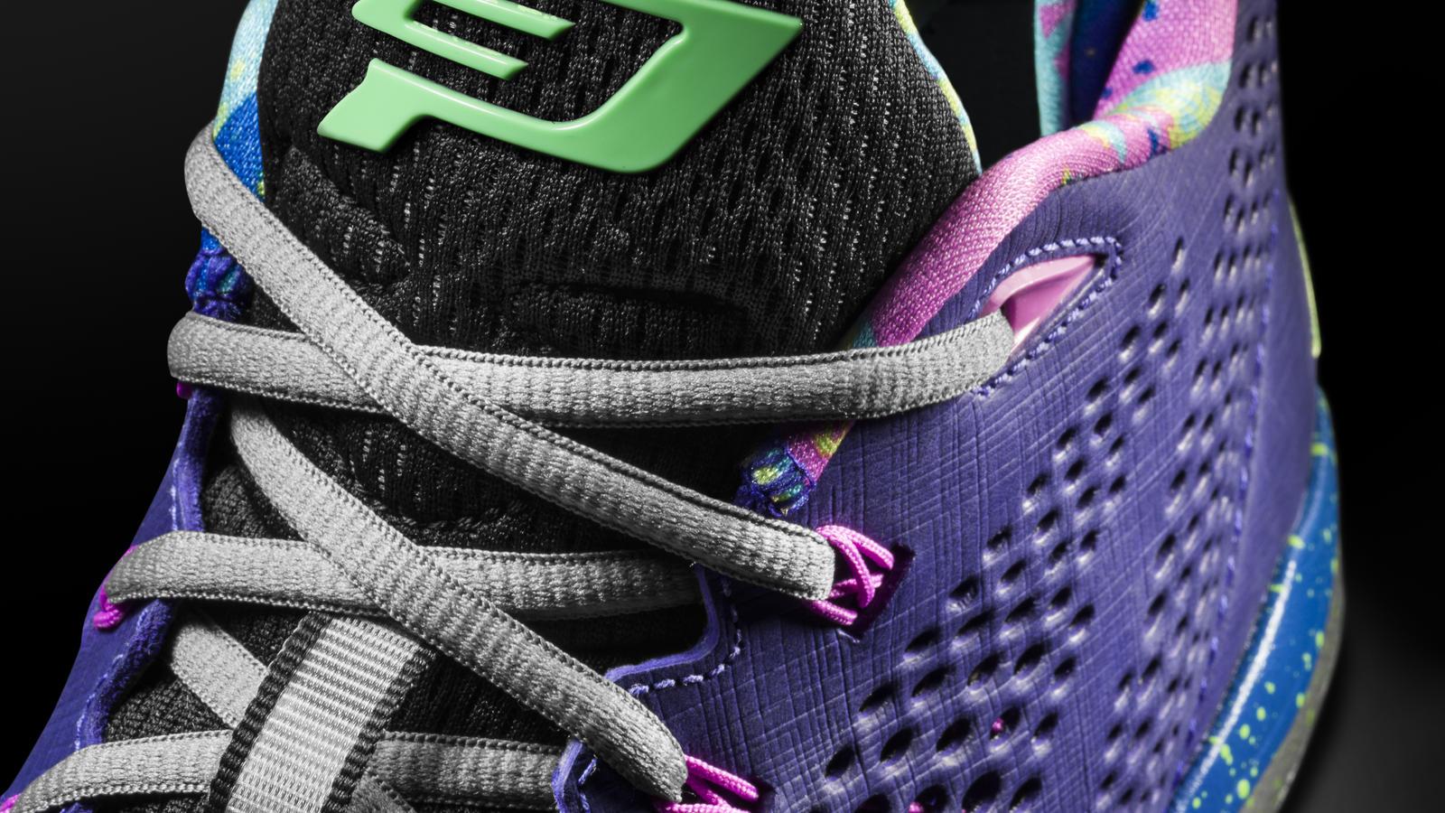 Jordan CP3.VII Court Purple - Laces View