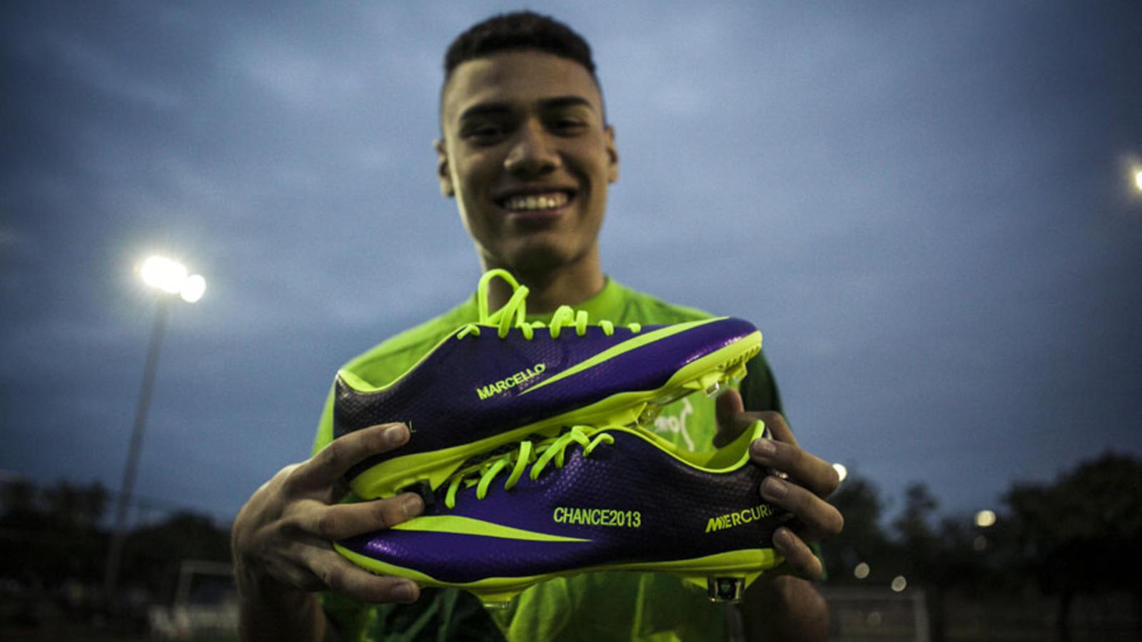 Marcello Nike Chance Chuteira Personalisada