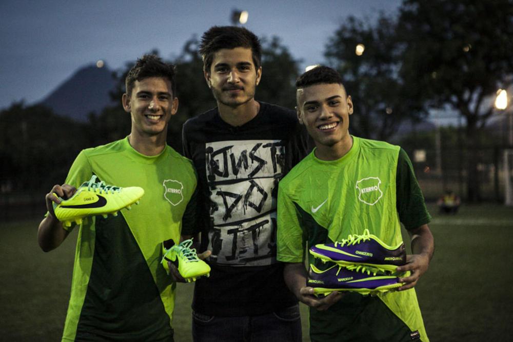 """""""Nike Chance"""" desembarca no Aterro"""