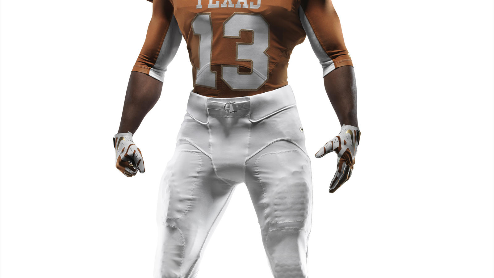 Ncaa Fb13 Uniforms Texas Full Uniform Front Base 0000
