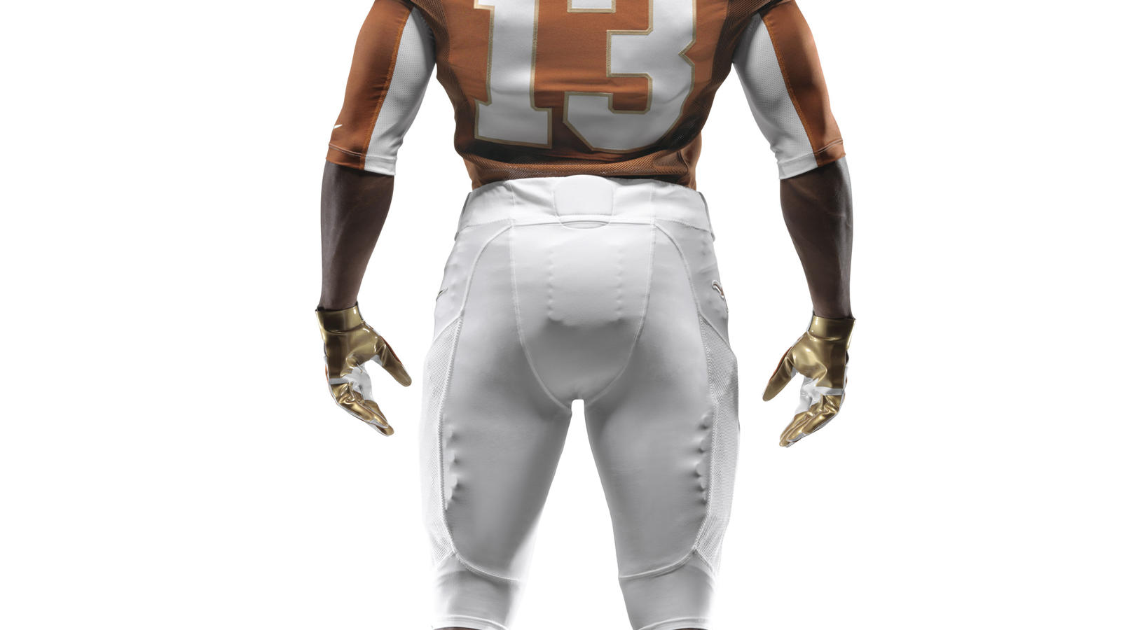 Ncaa Fb13 Uniforms Texas Full Uniform Back Fill 0000