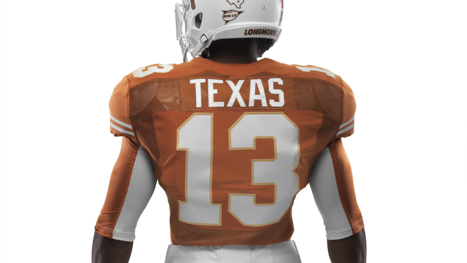 Ncaa Fb13 Uniforms Texas Waisttohelmet 0059