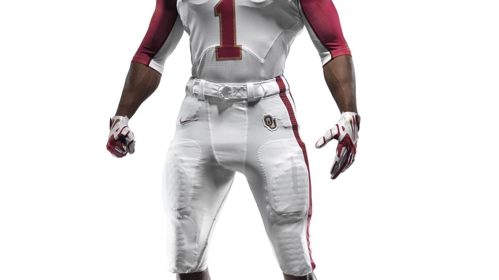 texas and oklahoma unveil new nike football uniforms for