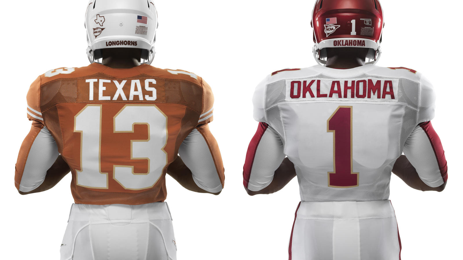 Nike Football Uniforms for Red River
