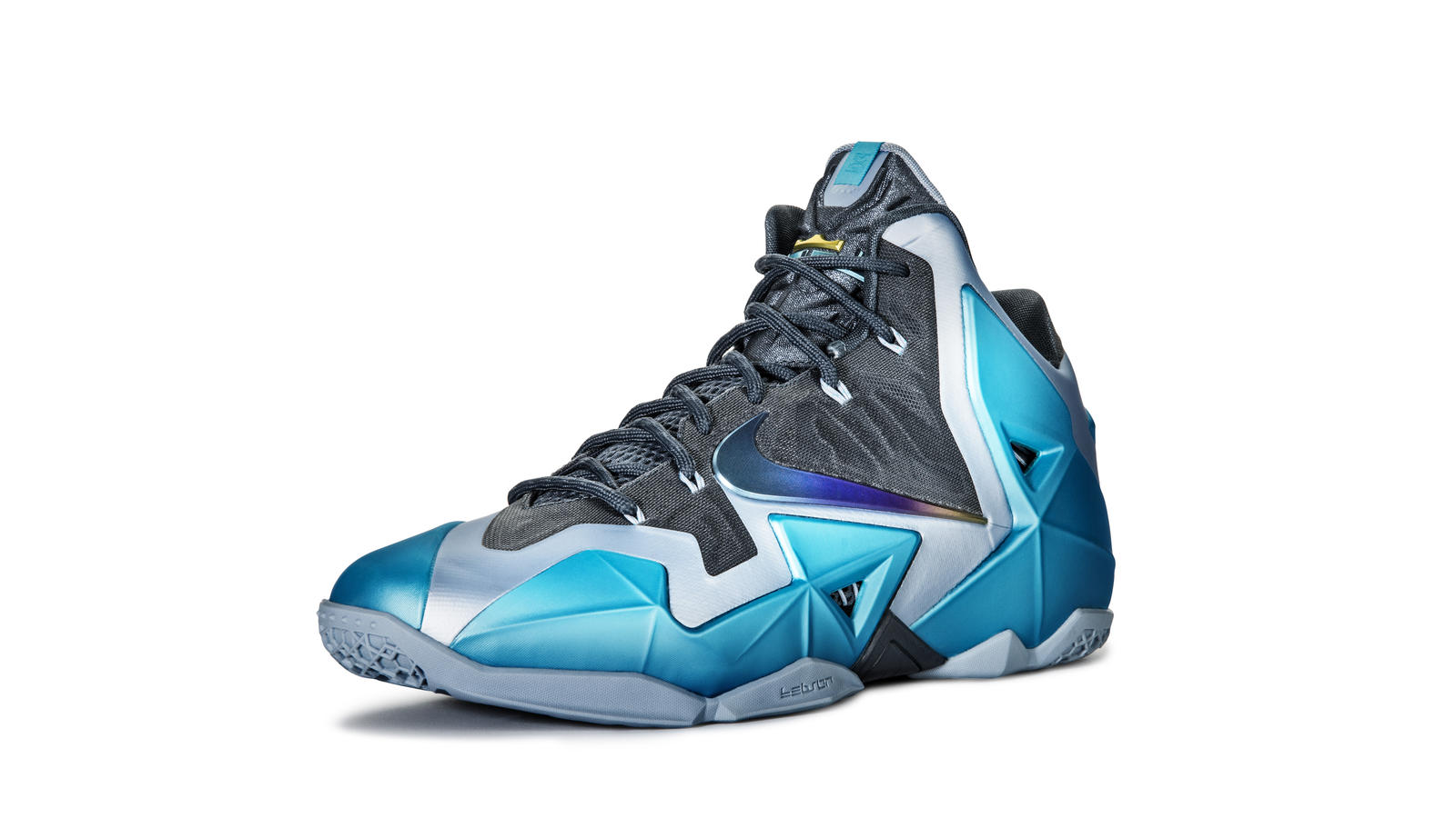 d7d44139 LEBRON 11 Gamma Blue: Heat Treated For Toughness - Nike News
