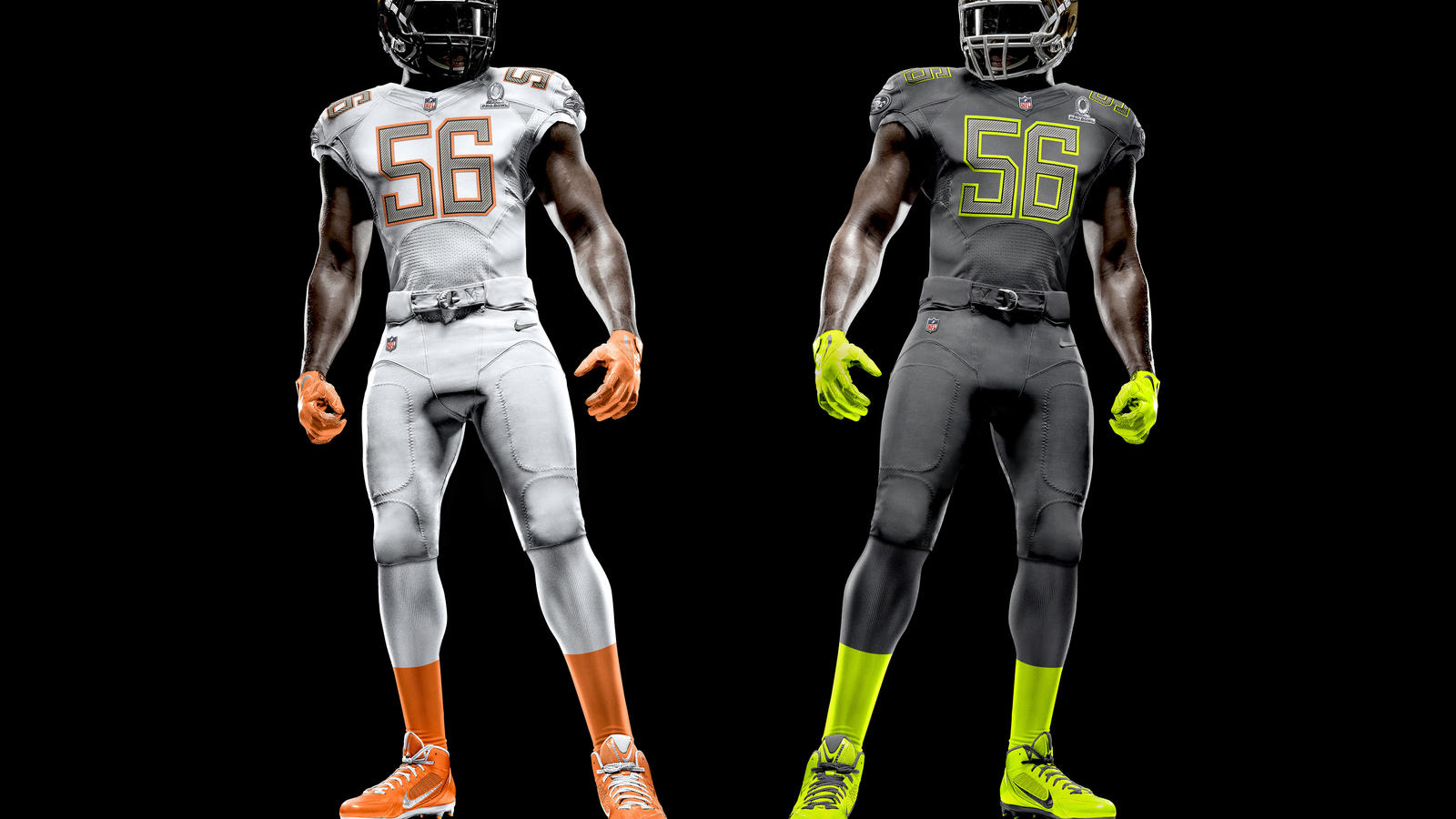 best sneakers 68ac8 61236 NFL Nike Elite 51 Pro Bowl Uniforms Unveiled - Nike News