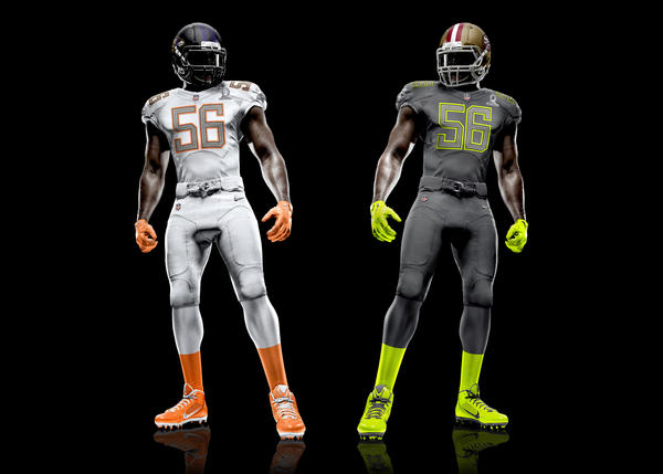 NFL Nike Elite 51 Pro Bowl Uniforms Unveiled