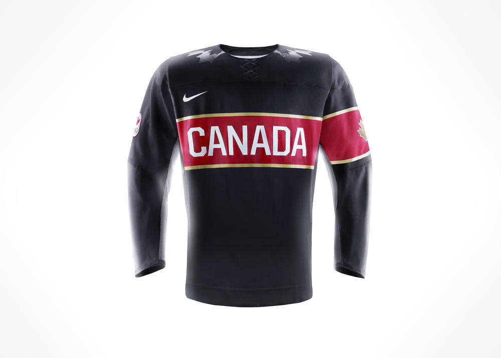 Hockey Canada and Nike unveil Team Canada jersey for 2014 Winter Competition