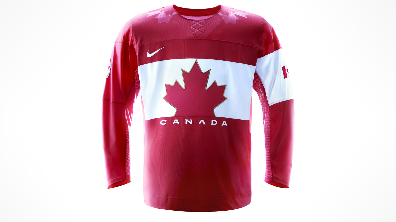 Nike 2014 Hockey Jersey Red
