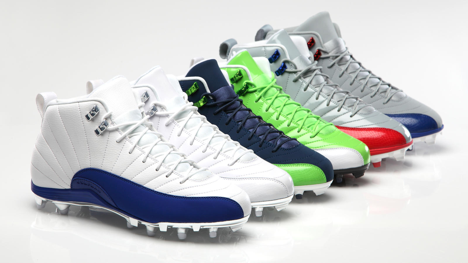 on sale 7095f de2cc AIR JORDAN XII Cleats