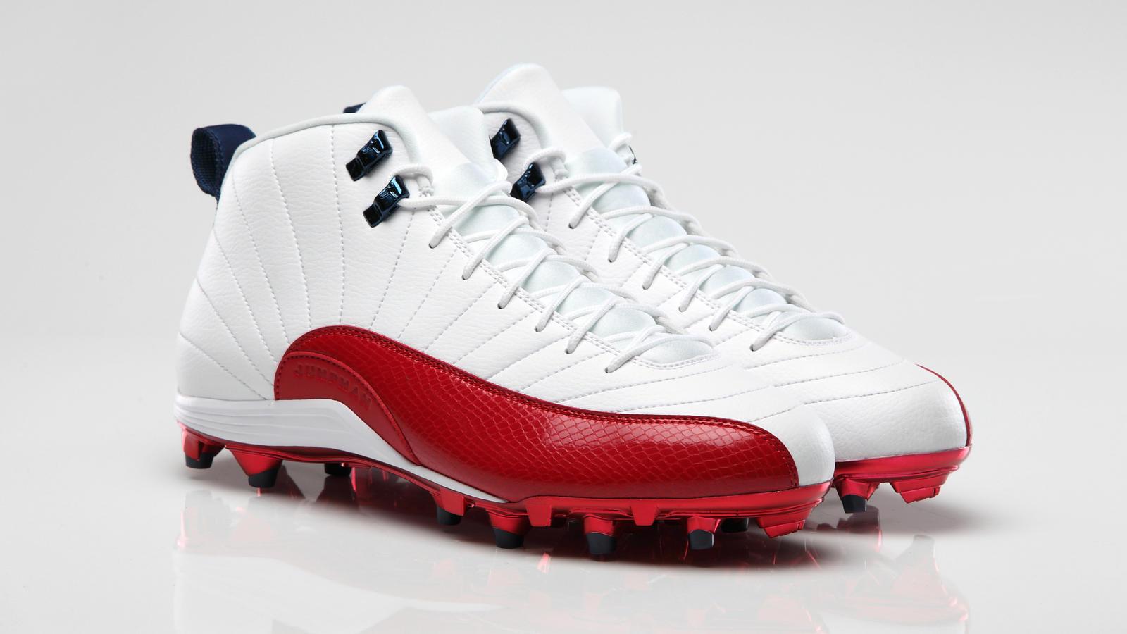 sports shoes 7f4cc 1f4fd AIR JORDAN XII Cleat Andre Johnson